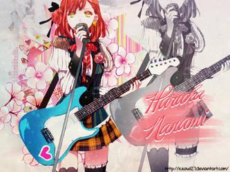 Haruka Nanami by Iceowl27