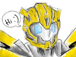 TF:Prime Bumblebee by b4uGo2h3v34n