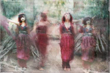 Gods and Goddesses - Fire Dance by DreamCaptureImages