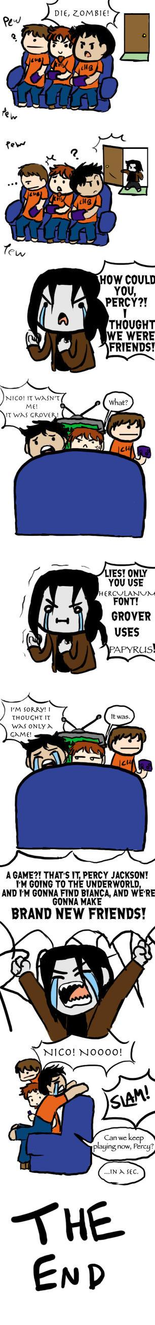 A Dumb Little Percy Jackson Comic by Kaya-chanXD