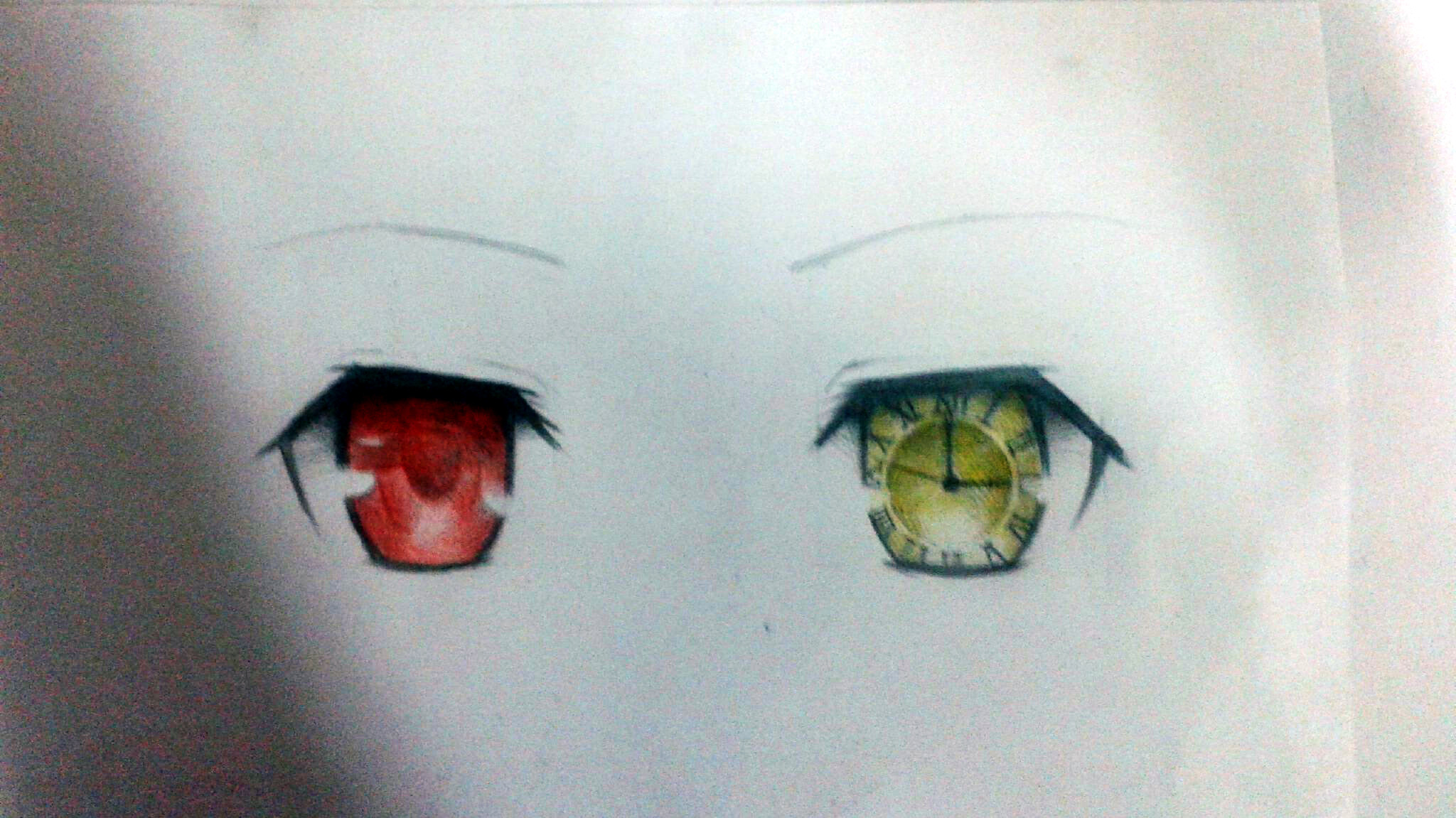 tokisaki kurumis eyes by shinku9 on deviantart