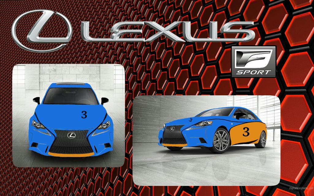 2014 lexus is 250 f sport by evangdraws on deviantart. Black Bedroom Furniture Sets. Home Design Ideas