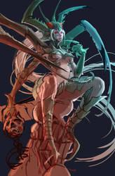 Mantis (Sketch Stage) by miasus