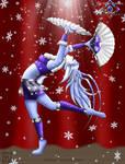 Snow's Dance by BloodAngel28