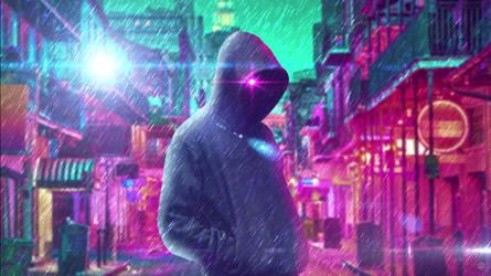 cyber punk ghost