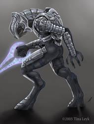 The Arbiter by jaxxblackfox
