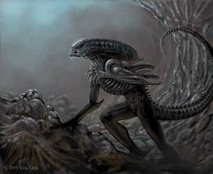 ALIENS- Hell's Gate. by jaxxblackfox
