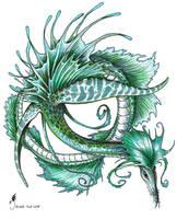 Leafy Sea Dragon by jaxxblackfox