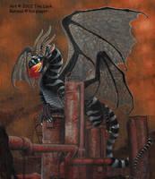 Rahmals Gas Works- dragon by jaxxblackfox