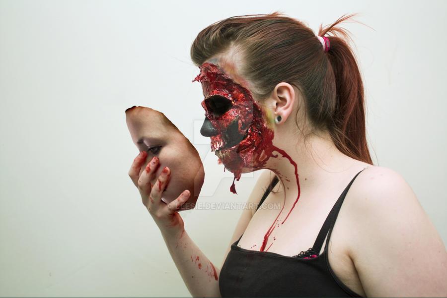 Beauty is only skin deep: 2 by Leesie