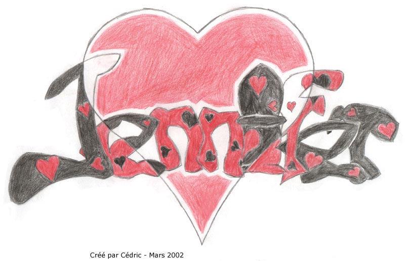 Jennifer heart :: Graf by sonique6784