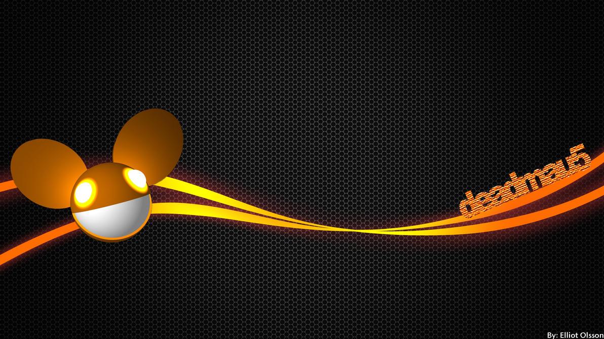 Orange Deadmau5 Wallpaper Hd By Elliotisa On Deviantart