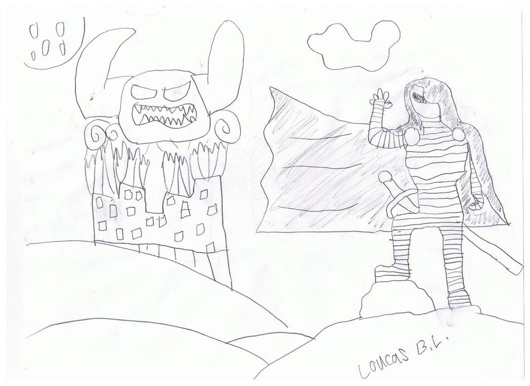 .knight Templar by loucas1oc