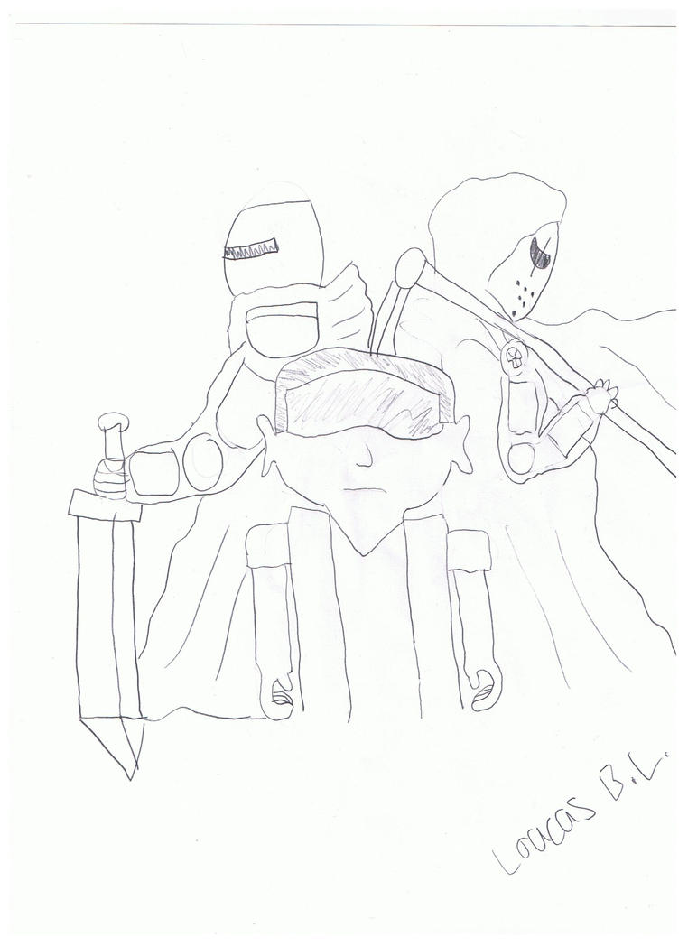 Evolution Of Death Knight by loucas1oc