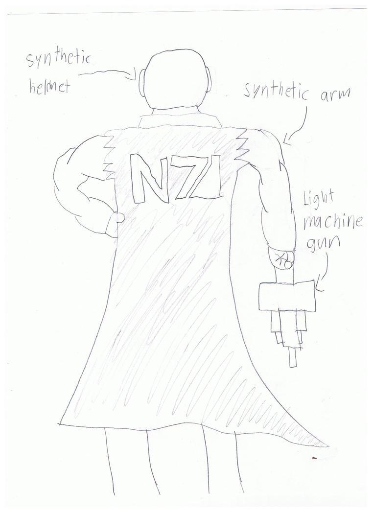 N7 soldier alliance. by loucas1oc
