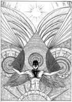 Angel of Art, awaken by peterfrancisfahy