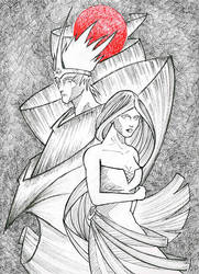Midhir and Etain: Two Moon Junction