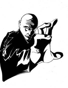 Inktober #29: Barker - The Diseased