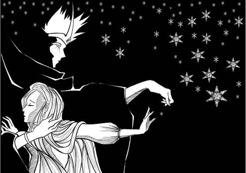 Midhir and Etain: Snowflake