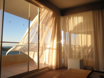 coastal sun by Thanzo