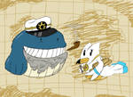 the Cartographer and the Sea Captain