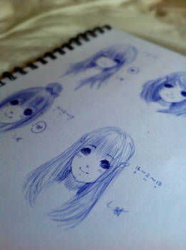 My sketches...