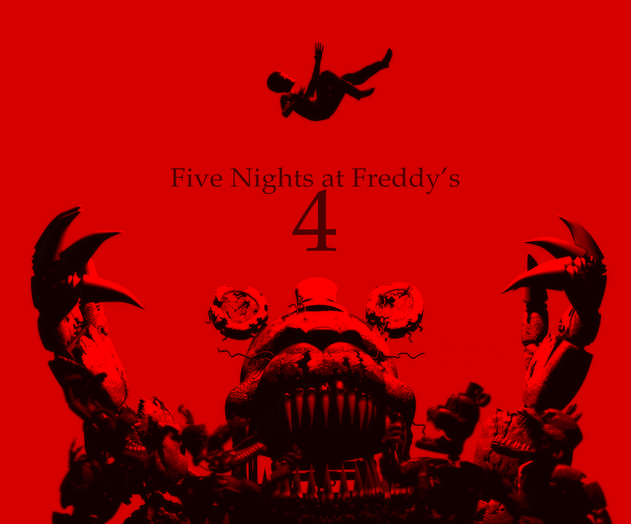 Five nights at freddy s nd anniversary by ferg e on deviantart