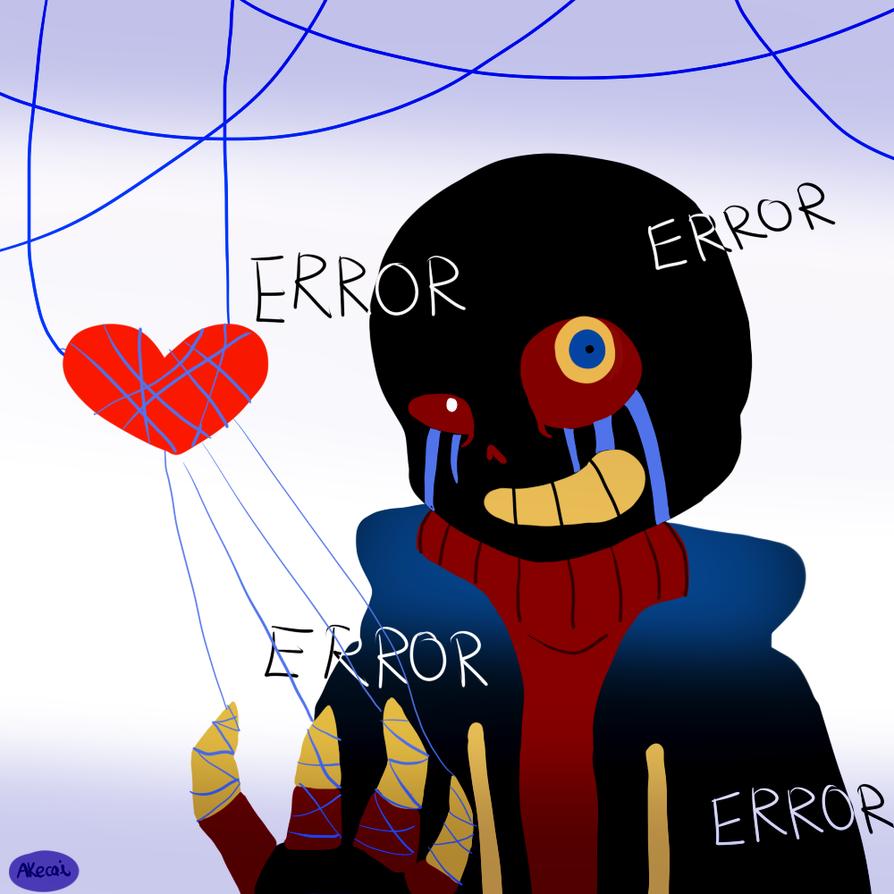 Error Sans (Errortale) By Akecai On DeviantArt
