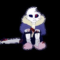 horror sans (horrortale) by KaiSkelyx