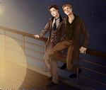 DC Titanic!AU: Starry Night