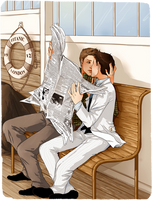 DC Titanic!AU: No One's Gonna See by nella-fantasiaa
