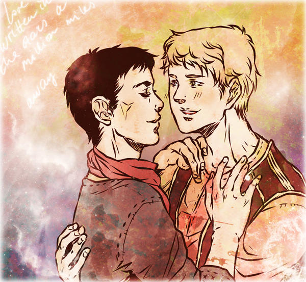 BBC Merlin: long time by nella-fantasiaa