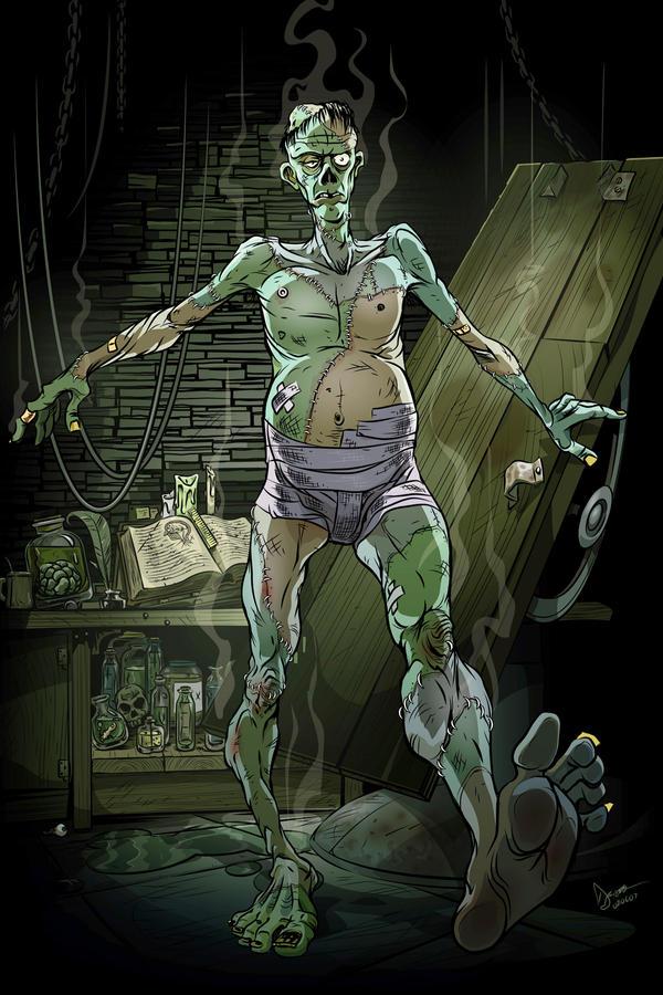 Frankenstein by abnormalbrain