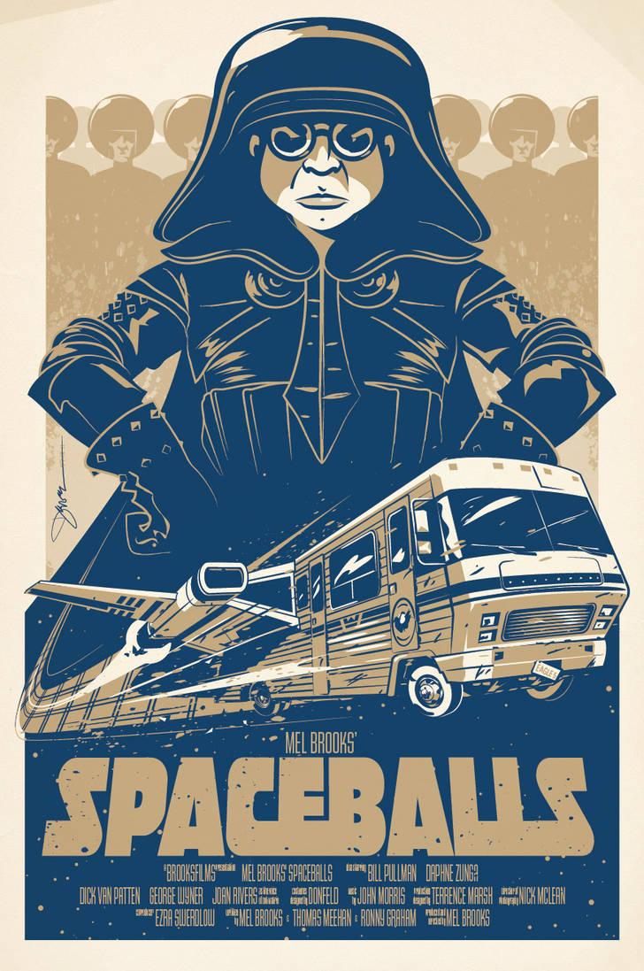 SPACEBALLS by abnormalbrain