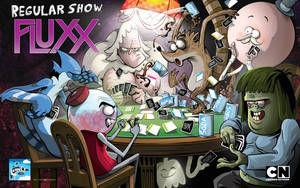 Regular Show Fluxx by abnormalbrain