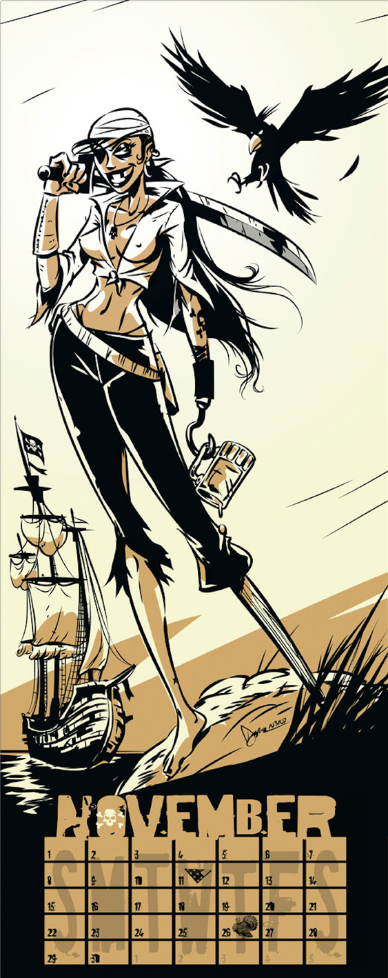 The Pirate Girl by abnormalbrain