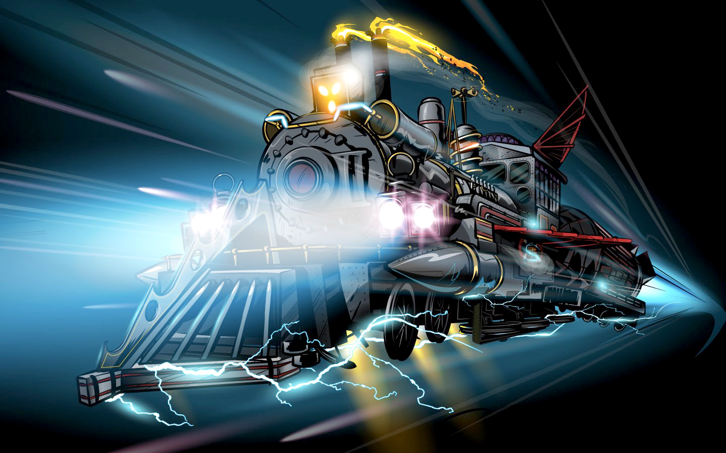 Back to the future iii doc brown s train by abnormalbrain on