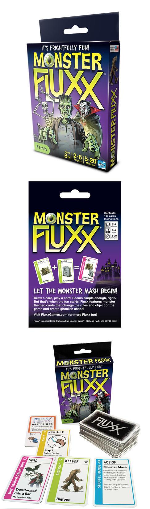 Monster Fluxx card game packaging by abnormalbrain