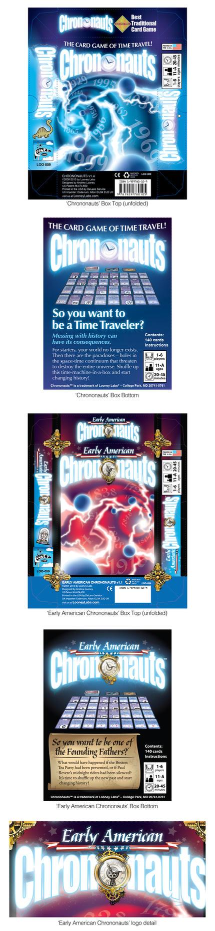 Chrononatus and Early American Chrononauts Rebrand by abnormalbrain