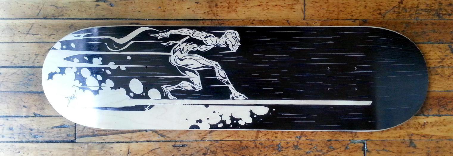 Surfer Board by abnormalbrain