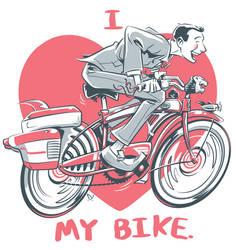 I love my bike by abnormalbrain