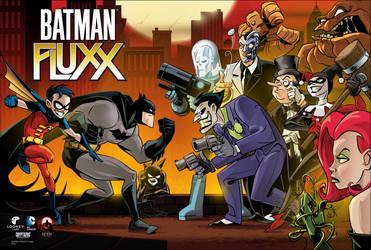 Batman Fluxx Poster by abnormalbrain