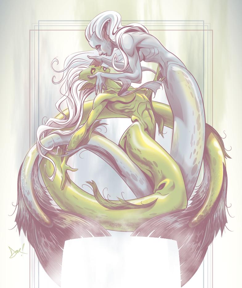 Mermaids by abnormalbrain