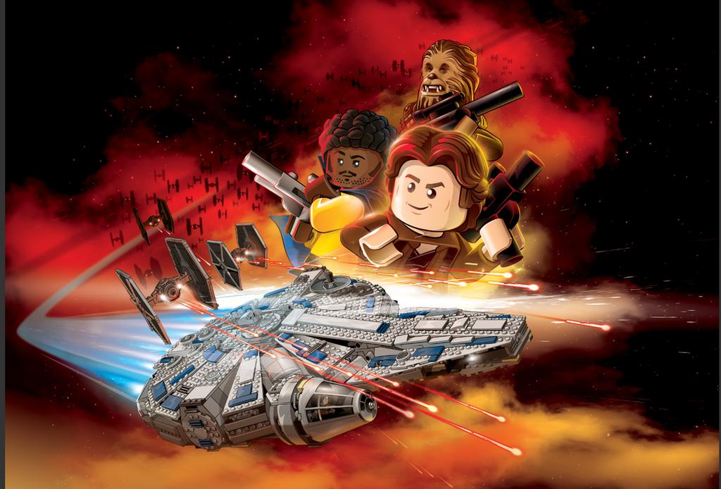 LEGO Star Wars: Solo by abnormalbrain