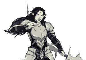 [Commission Sketch] CaptnScallywag by TM-Ayala