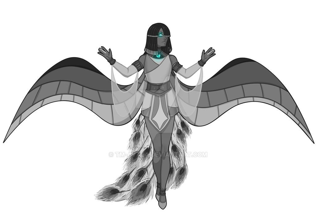 [Commission Sketch] FluffyCheetoPuff by TM-Ayala