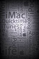 Applematic Silver iPhone Wall by Geordie-Boyo