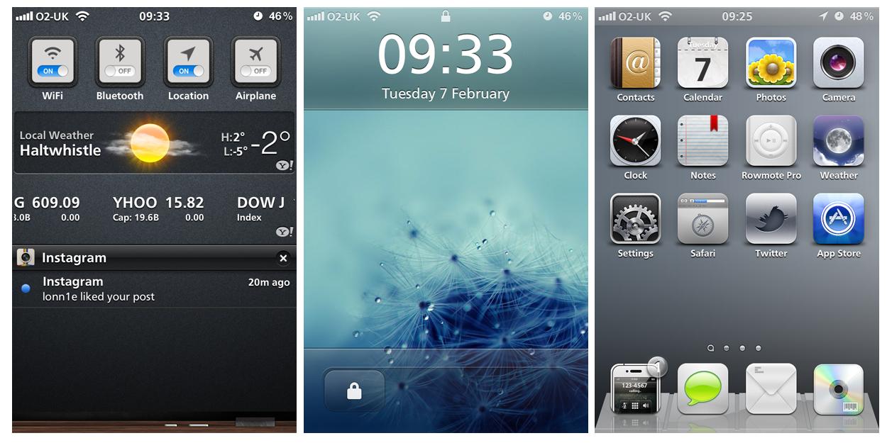 Nice and Simple iOS5 by Geordie-Boyo
