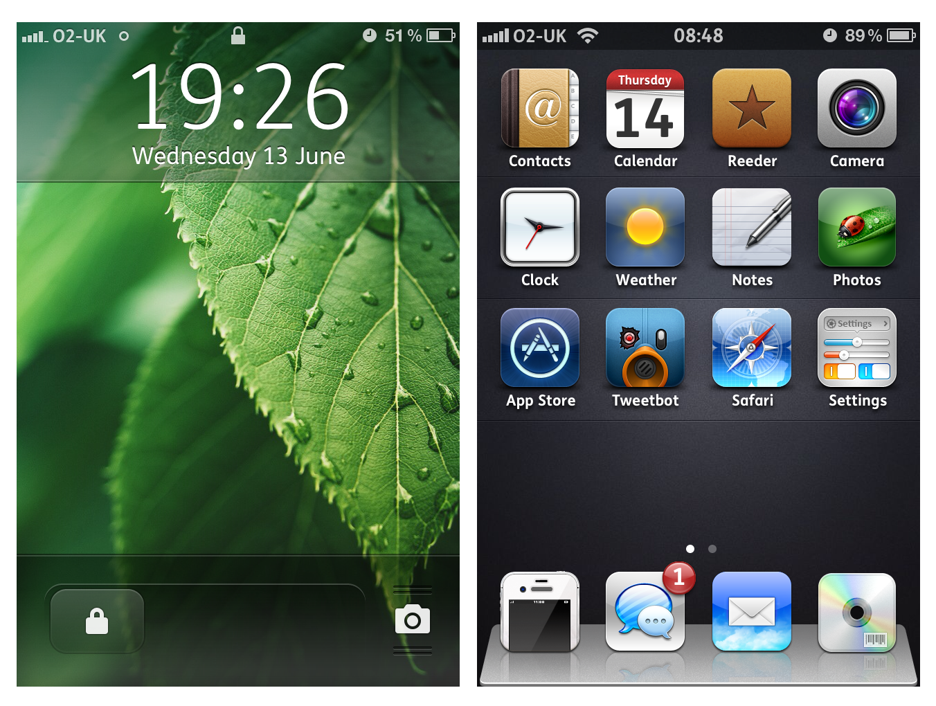 Leafy iOS5.1.1 for June by Geordie-Boyo