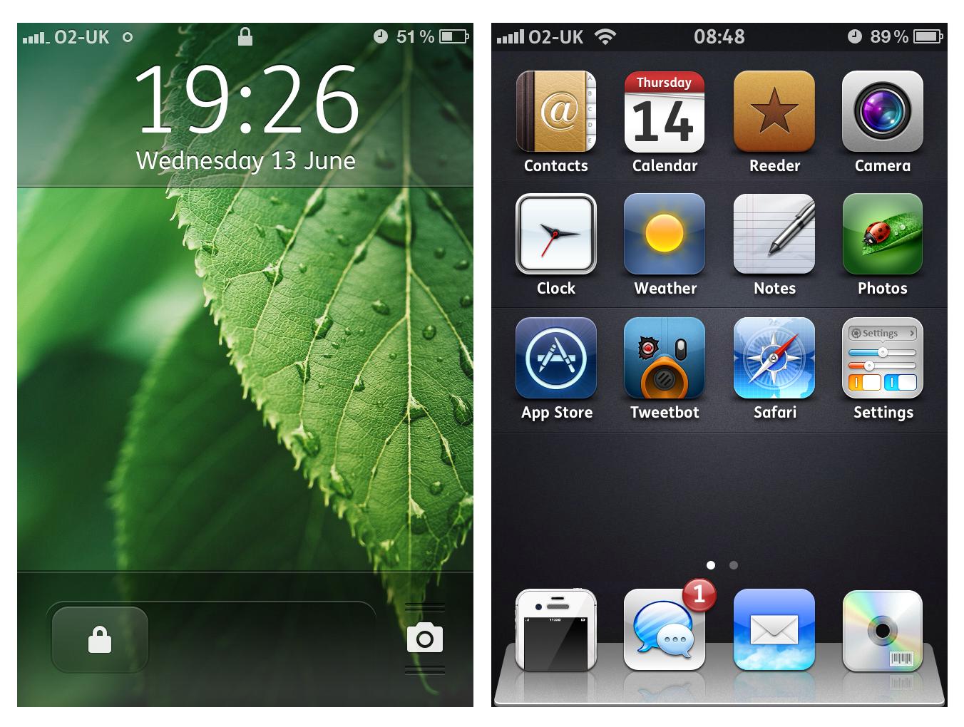 Leafy iOS5.1.1 for June by Geordie-Boyo